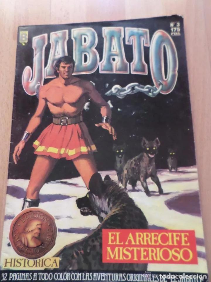 JABATO - EDICION HISTORICA -- N 3 - EDICIONES B (Tebeos y Comics - Ediciones B - Clásicos Españoles)