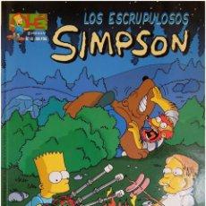 Cómics: MATT GROENING - LOS ESCRUPUKLOSOS - OLÉ! SIMPSON #16 - 1ª EDICIÓN 1998 - COMICS BONGO. Lote 208563488