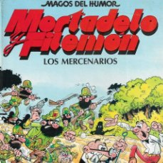 Cómics: MAGOS DEL HUMOR - Nº 36 - MORTADELO Y FILEMÓN - LOS MERCENARIOS - F. IBÁÑEZ - EDICIONES B. , 1990.. Lote 208668170