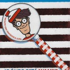 Fumetti: ¿DONDE ESTA WALLY?. EL MAGNIFICO ESTUCHE DE MINILIBROS. EDICIONES B. ESTUCHE CON 5 MINILIBROS + LUPA. Lote 209193532