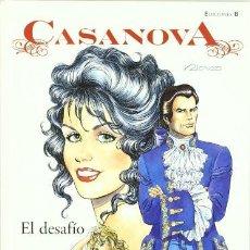 Cómics: EL DESAFIO CASANOVA FERRANDIZ MORA, RICARDO EDICIONES B. Lote 209941196