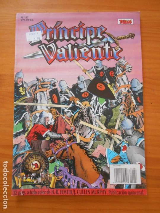 PRINCIPE VALIENTE Nº 87 - EDICION HISTORICA - EDICIONES B (AI) (Tebeos y Comics - Ediciones B - Clásicos Españoles)