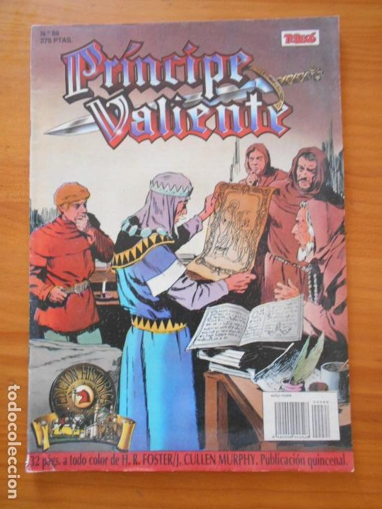 PRINCIPE VALIENTE Nº 88 - EDICION HISTORICA - EDICIONES B (AI) (Tebeos y Comics - Ediciones B - Clásicos Españoles)
