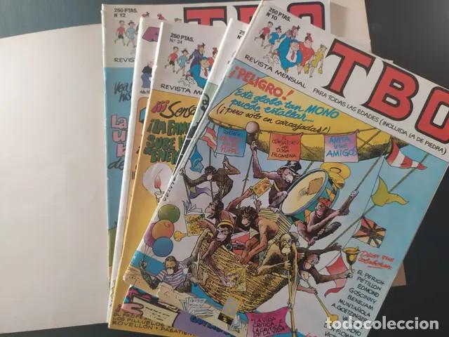 Cómics: Antiguo comic TBO tebeo Tomo 6 edición limitada números número 21,22,23 y 24 ediciones b grupo z - Foto 4 - 210099211