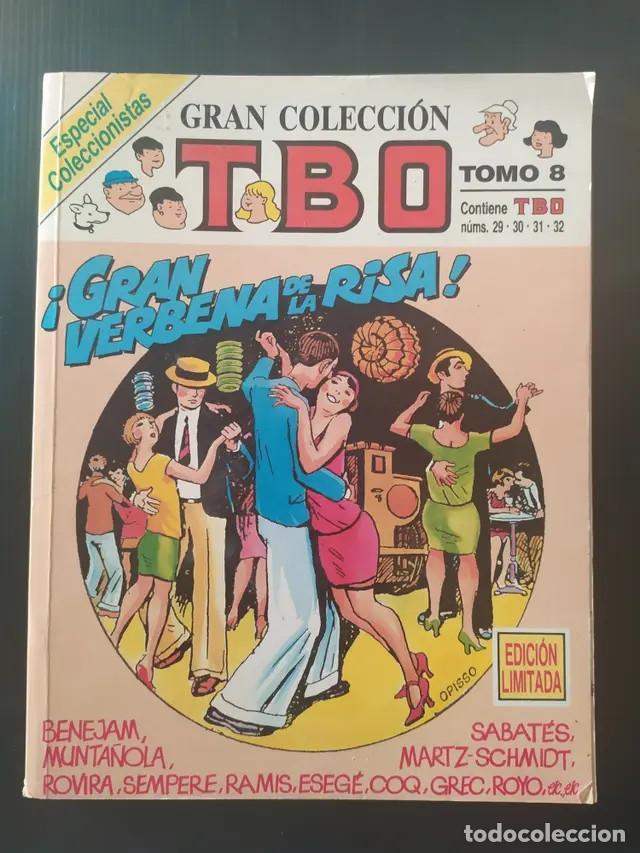 ANTIGUO COMIC TBO TEBEO TOMO 8 EDICIÓN LIMITADA NÚMEROS NÚMERO 29,30,31,32 EDICIONES B GRUPO Z (Tebeos y Comics - Ediciones B - Clásicos Españoles)