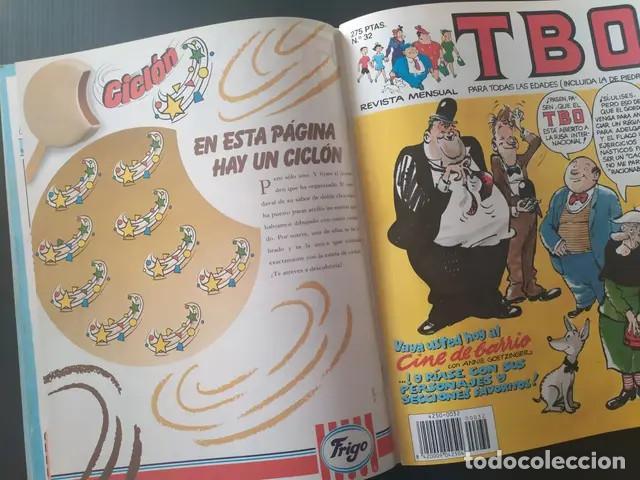 Cómics: Antiguo comic TBO tebeo Tomo 8 edición limitada números número 29,30,31,32 ediciones b grupo z - Foto 4 - 210099365