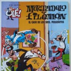 Cómics: CÓMIC OLÉ! MORTADELO Y FILEMÓN Nº 90 EL CASO DE LOS SRES. PQUEÑITOS - GRUPO ZETA EDICIONES B 2000. Lote 210147612