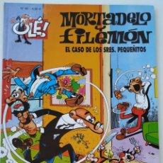 Cómics: CÓMIC OLÉ! MORTADELO Y FILEMÓN Nº 90 EL CASO DE LOS SRES. PQUEÑITOS - GRUPO ZETA EDICIONES B 2008. Lote 210147720