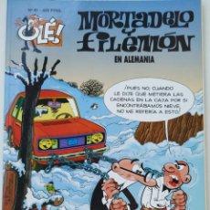 Cómics: CÓMIC OLÉ! MORTADELO Y FILEMÓN Nº 91 EN ALEMANIA - GRUPO ZETA EDICIONES B 2000. Lote 210147863