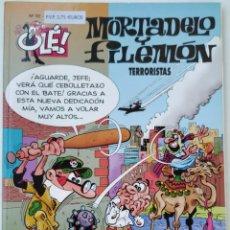 Cómics: CÓMIC OLÉ! MORTADELO Y FILEMÓN Nº 92 TERRORISTAS - GRUPO ZETA EDICIONES B 2000. Lote 210147911