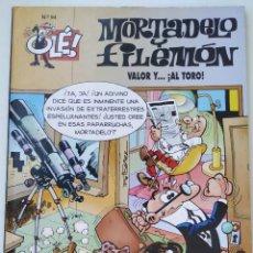 Cómics: CÓMIC OLÉ! MORTADELO Y FILEMÓN Nº 94 VALOR Y ... AL TORO - GRUPO ZETA EDICIONES B 1995. Lote 210148062