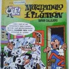Cómics: CÓMIC OLÉ! MORTADELO Y FILEMÓN Nº 98 SAFARI CALLEJERO - GRUPO ZETA EDICIONES B 2000. Lote 210148190
