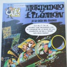 Cómics: CÓMIC OLÉ! MORTADELO Y FILEMÓN Nº 105 A LA CAZA DEL CUADRO - GRUPO ZETA EDICIONES B 2001. Lote 210148306