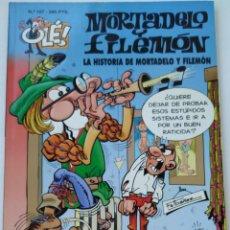 Cómics: CÓMIC OLÉ! MORTADELO Y FILEMÓN Nº 107 LA HISTORIA DE MORTADELO Y FILEMON GRUPO ZETA EDICIONES B 1998. Lote 210148370