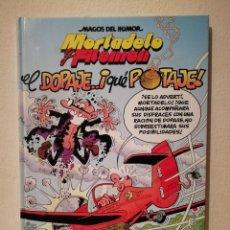 Cómics: LIBRO TAPA DURA - MORTADELO Y FILEMON - COMIC - EL DOPAJE QUÉ POTAJE - EDICIONES B -MAGOS DEL HUMOR. Lote 210158482