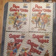 Cómics: GRAN FESTIVAL DEL CÓMIC(AÑO 1988), 5 TOMOS (PEPE GOTERA Y OTILIO Y SUPERLOPEZ). Lote 210198421