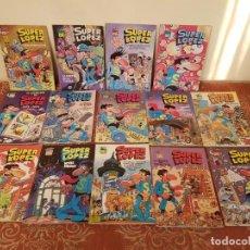 Cómics: 14 COMICS SUPER LOPEZ OLE AÑOS 80 PRIMERAS EDICIONES,EN ACEPTABLE ESTADO,VER DETALLES.. Lote 210421642
