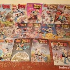 Cómics: 14 COMICS EDICION B.SUPER LOPEZ FANS,SUPERLOPEZ,PRIMERAS EDICIONES,MBC,AÑOS 2000 VER DETALLES.. Lote 210426060