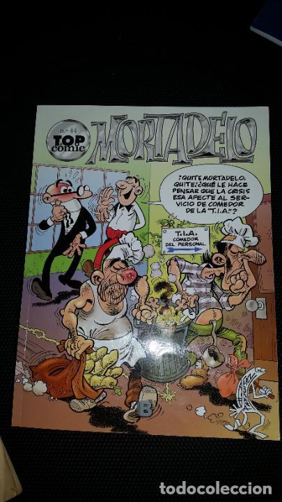 TOP COMIC N°44 MORTADELO EDICIONES B PRIMERA EDICIÓN AÑO 2012 (Tebeos y Comics - Ediciones B - Humor)