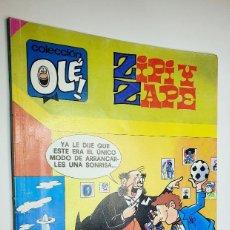 Cómics: ZIPI Y ZAPE ***COLECCIÓN OLÉ NÚMERO 176-Z.66***EDICIONES B 1989. Lote 41655887