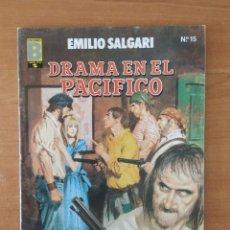 Cómics: DRAMA EN EL PACIFICO. EMILIO SALGARI. GRANDES AVENTURAS. COMICS COLOR. Nº 15. EDICIONES B.. Lote 211459349