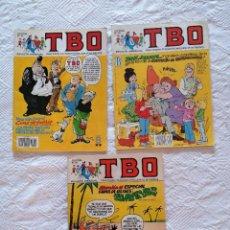 Cómics: LOTE 3 COMICS TBO, N° 28, N°32, N°57. Lote 211478750