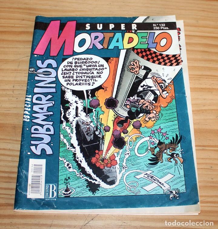 SUPER MORTADELO - ESPECIAL SUBMARINOS - Nº132 - EDICIONES B (Tebeos y Comics - Ediciones B - Humor)
