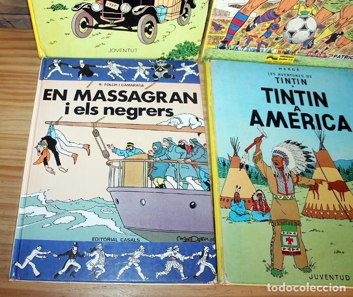 Cómics: LOTE DE 4 COMICS: TINTIN, ERIC CASTEL Y MASSAGRAN - TAPA DURA - Foto 2 - 211525394