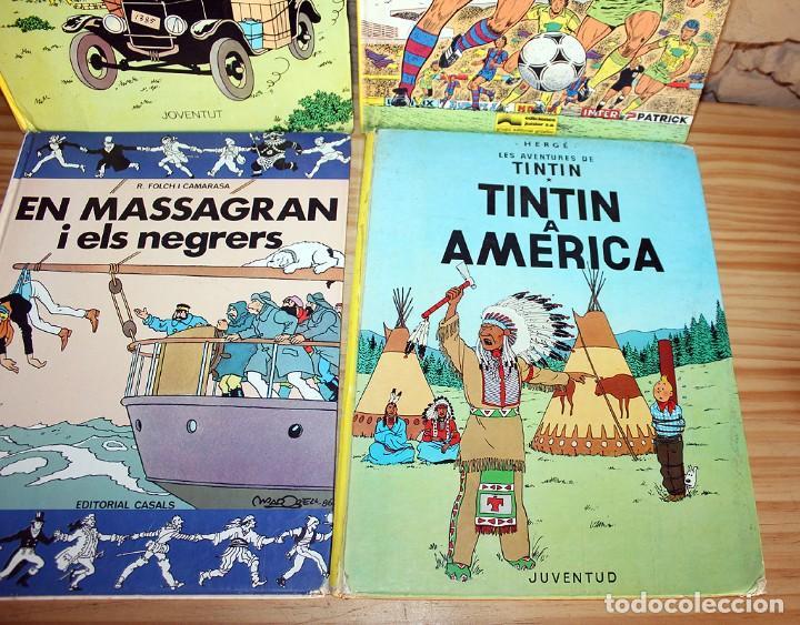 Cómics: LOTE DE 4 COMICS: TINTIN, ERIC CASTEL Y MASSAGRAN - TAPA DURA - Foto 3 - 211525394