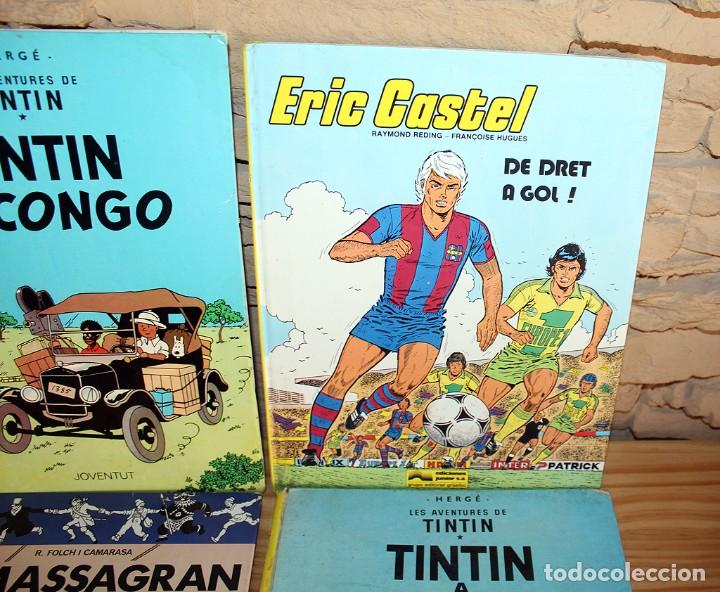 Cómics: LOTE DE 4 COMICS: TINTIN, ERIC CASTEL Y MASSAGRAN - TAPA DURA - Foto 4 - 211525394