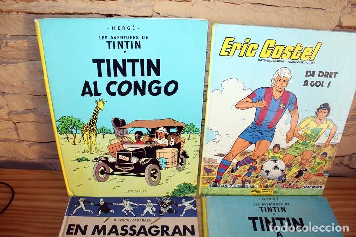 Cómics: LOTE DE 4 COMICS: TINTIN, ERIC CASTEL Y MASSAGRAN - TAPA DURA - Foto 5 - 211525394