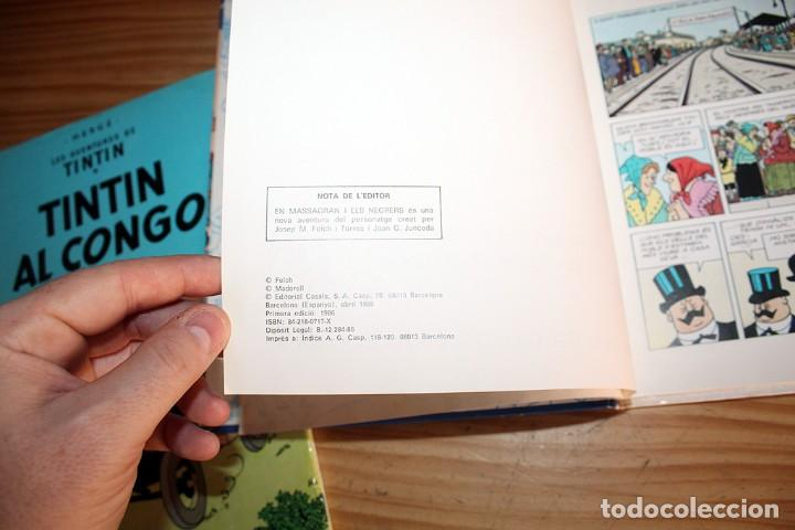 Cómics: LOTE DE 4 COMICS: TINTIN, ERIC CASTEL Y MASSAGRAN - TAPA DURA - Foto 7 - 211525394