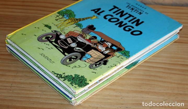 Cómics: LOTE DE 4 COMICS: TINTIN, ERIC CASTEL Y MASSAGRAN - TAPA DURA - Foto 10 - 211525394