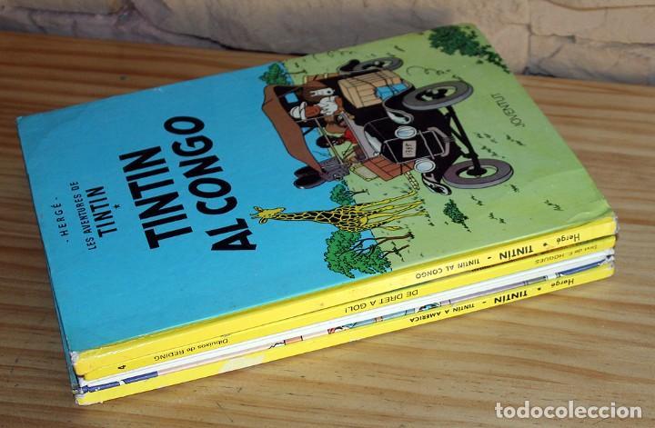 Cómics: LOTE DE 4 COMICS: TINTIN, ERIC CASTEL Y MASSAGRAN - TAPA DURA - Foto 11 - 211525394