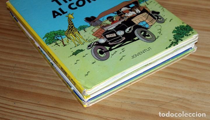 Cómics: LOTE DE 4 COMICS: TINTIN, ERIC CASTEL Y MASSAGRAN - TAPA DURA - Foto 12 - 211525394