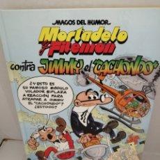 Cómics: MORTADELO Y FILEMÓN CONTRA JIMMY EL CACHONDO (PRIMERA EDICIÓN, TAPA DURA). Lote 211559047