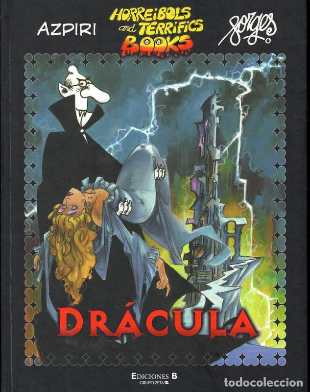 DRÁCULA (FORGES - AZPIRI) HORREIBOLS AND TERRIFICS BOOKS. DESCATALOGADO (Tebeos y Comics - Ediciones B - Humor)