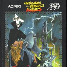 Cómics: DRÁCULA (FORGES - AZPIRI) HORREIBOLS AND TERRIFICS BOOKS. DESCATALOGADO. Lote 211626974