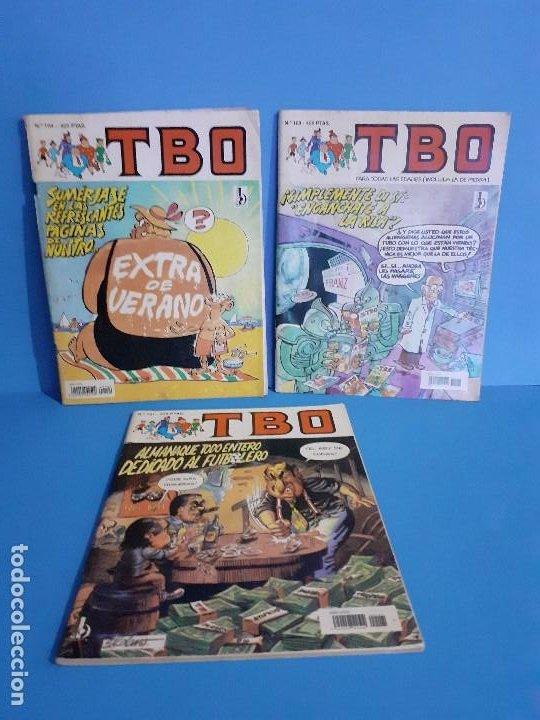 LOTE 3 COMICS TBO. (Tebeos y Comics - Ediciones B - Humor)