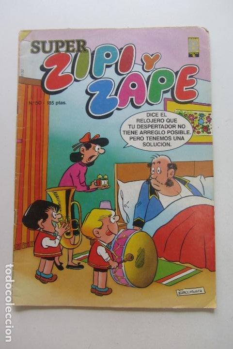 SUPER ZIPI Y ZAPE - Nº 50 - EDICIONES B. 1989 CX60 (Tebeos y Comics - Ediciones B - Humor)
