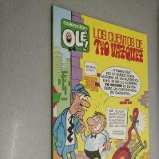 Cómics: COLECCIÓN OLÉ Nº 25-V.5: LOS CUENTOS DE TÍO VÁZQUEZ / EDICIONES B 1ª EDICIÓN 1988. Lote 211652008