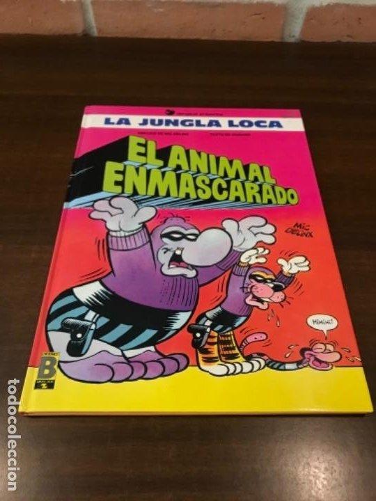 LA JUNGLA LOCA. Nº 1. EL ANIMAL ENMASCARADO. MIC DELINX - GODARD. EDICIONES B 1989. (Tebeos y Comics - Ediciones B - Otros)
