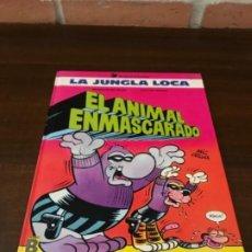 Cómics: LA JUNGLA LOCA. Nº 1. EL ANIMAL ENMASCARADO. MIC DELINX - GODARD. EDICIONES B 1989.. Lote 211684834