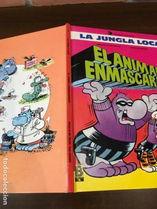 Cómics: LA JUNGLA LOCA. Nº 1. EL ANIMAL ENMASCARADO. MIC DELINX - GODARD. EDICIONES B 1989. - Foto 8 - 211684834