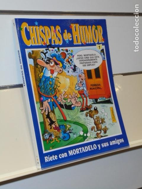 CHISPAS DE HUMOR Nº 1 INCLUYE MORTADELO EXTRA 49, ZIPI ZAPE EXTRA 46 Y TBO Nº 60 - EDICIONES B OCAS. (Tebeos y Comics - Ediciones B - Humor)