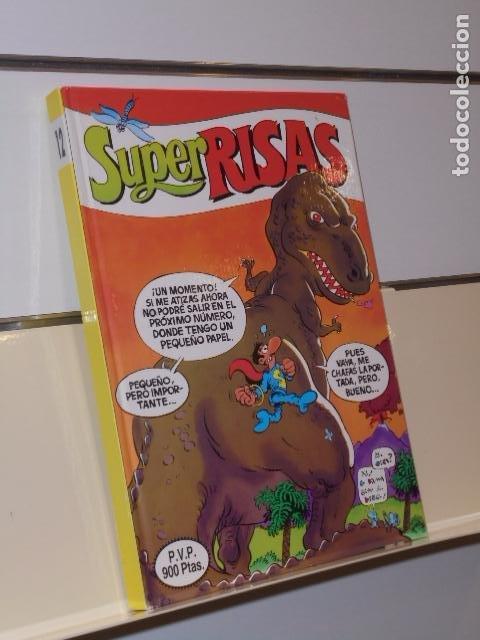 SUPER RISAS Nº 12 INCLUYE SUPER MORTADELO 26, 25, SUPER ZIPI Y ZAPE 30,29 Y S. LOPEZ - EDICIONES B (Tebeos y Comics - Ediciones B - Humor)