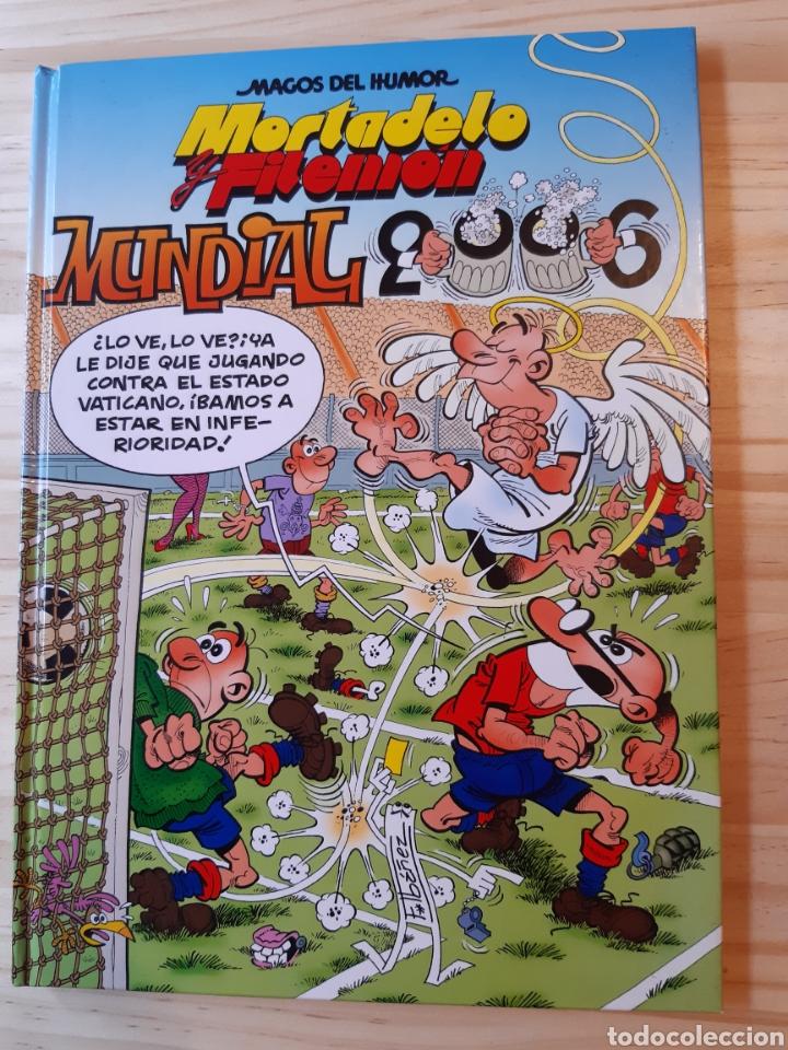 MORTADELO Y FILEMÓN, CÓMIC,N°110, MUNDIAL 2006,MAGOS DEL HUMOR, EDICIONES B,GRUPO Z. (Tebeos y Comics - Ediciones B - Humor)