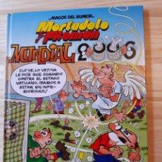 Cómics: MORTADELO Y FILEMÓN, CÓMIC,N°110, MUNDIAL 2006,MAGOS DEL HUMOR, EDICIONES B,GRUPO Z.. Lote 211720698