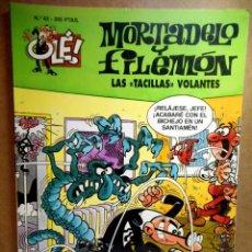 Cómics: MORTADELO Y FILEMÓN Nº 43 : LAS TACILLAS VOLANTES. Lote 211758057