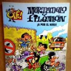 Cómics: MORTADELO Y FILEMÓN Nº 60 : ¡A POR EL NIÑO!. Lote 211758473